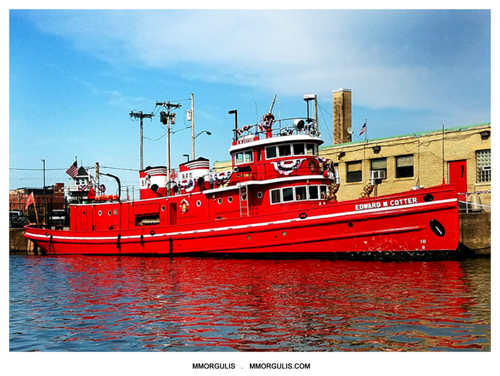 OUTER HARBOR FIRE BOAT  (large view)