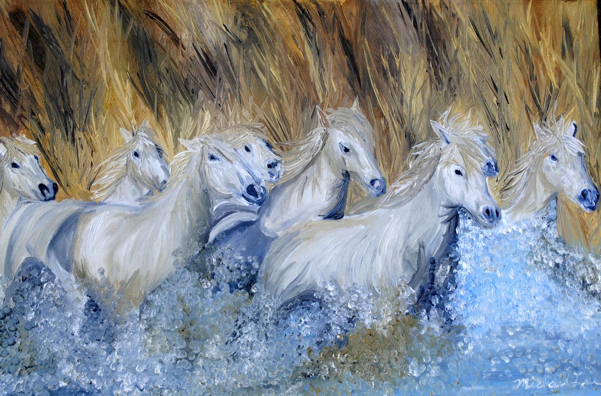 Chincoteague Ponies (large view)