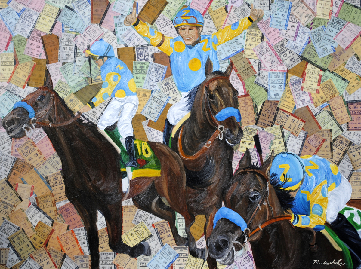 American Pharoah Triple Crown Win (large view)