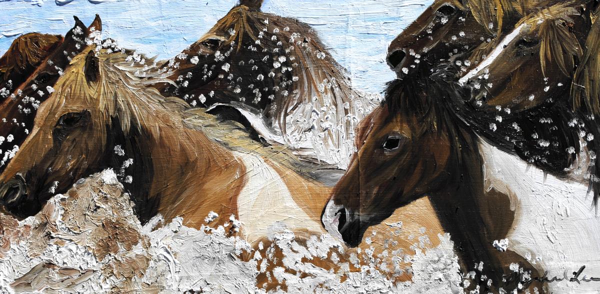 Horse Swim (large view)