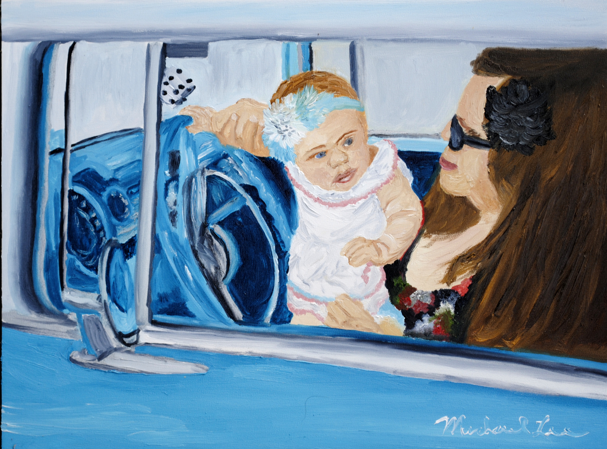 Alani Drives 57' Chevy (large view)
