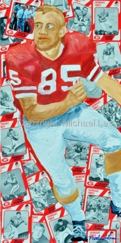 Commission work of UGA football player (large view)