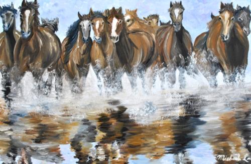 Equestrian Paintings