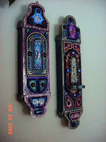 tribal wand (s) by Michele Fisher Ceramics and Mixed Media
