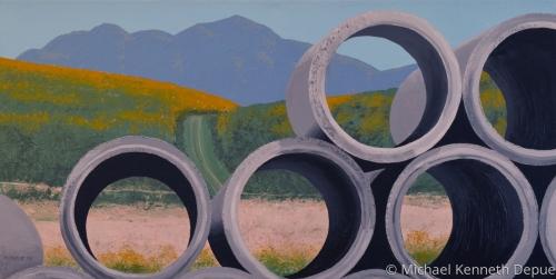 OC Concrete Pipe Landscape