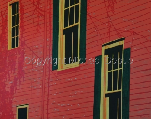 New Orleans Side View by Michael Kenneth Depue