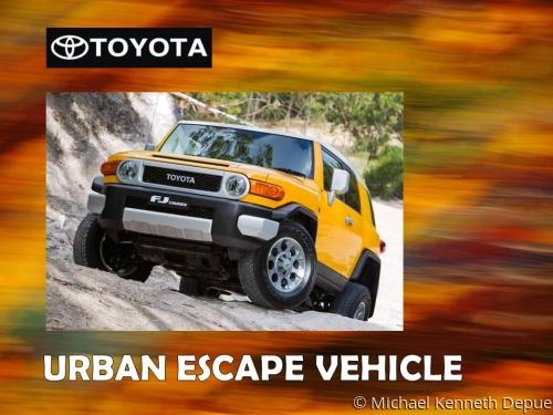 Toyota Urban Escape Vehicle Design 1