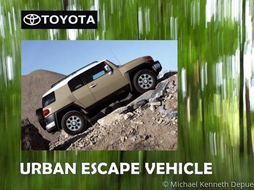 Toyota Urban Escape Vehicle Design 2
