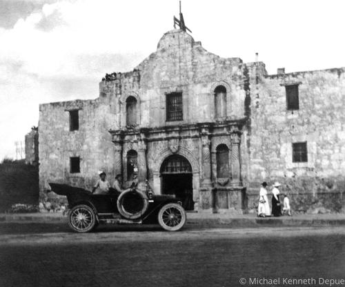 Alamo early 1900's