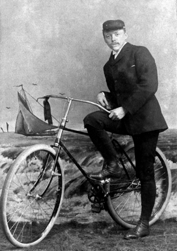 Man with Bicycle
