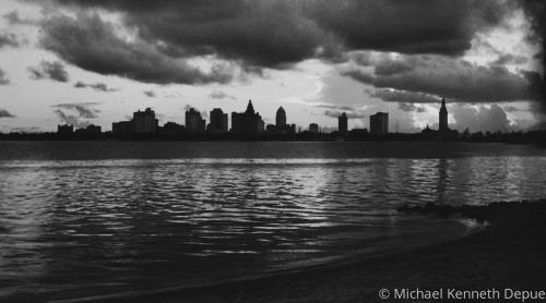 Miami skyline 1940s