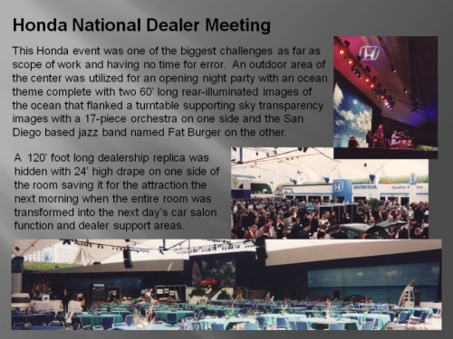 Honda Nat'l Dealer Meeting