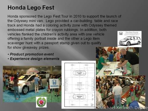 Honda Lego Fest