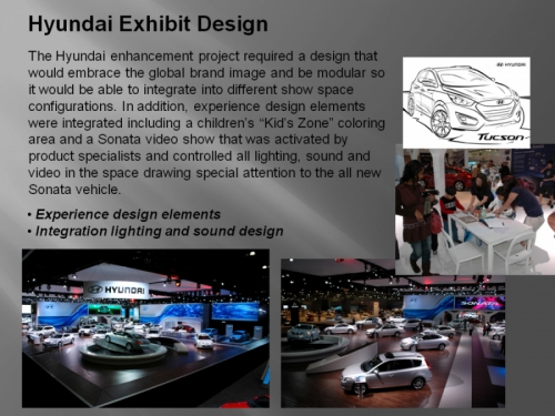 Hyundai Exhibit Design