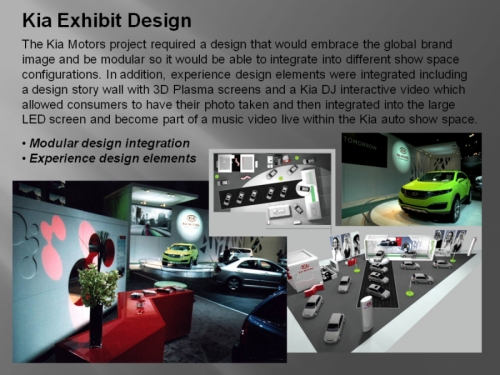Kia Exhibit Design