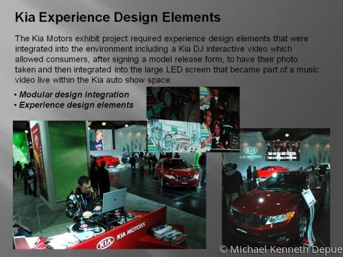 Kia Experience Design