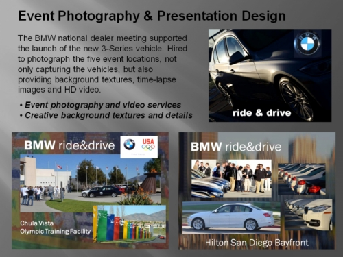 Photography Presentation Design