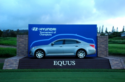 Hyundai Outdoor Display