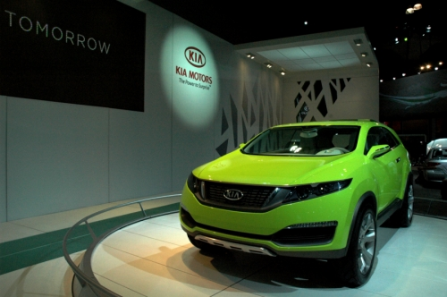 Kia Exhibit Design Image