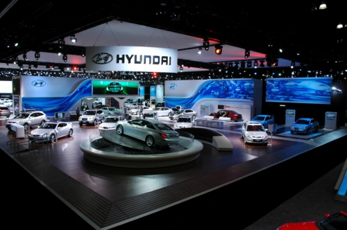 Hyundai Exhibit Design Image