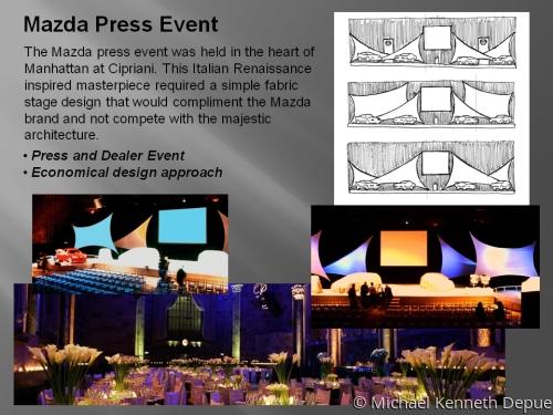Mazda Press Event
