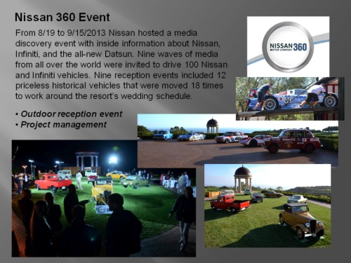 Nissan 360 Event