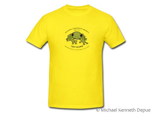 National Geographic Kids T-Shirt Design