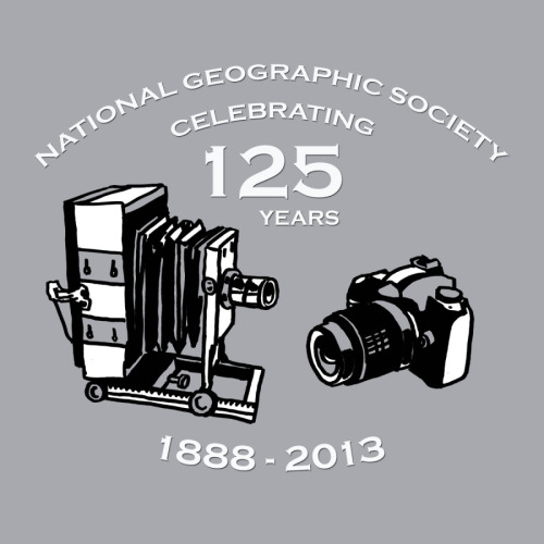 National Geographic Adult T-Shirt Design