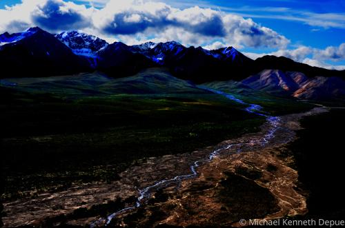 Denali Glacial Runoff