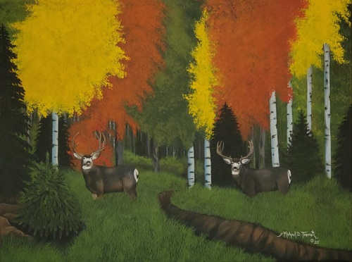 Autumn Trails by Michael D. Tenorio Native Arts