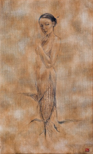 Corn-Mermaid