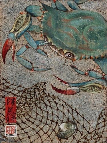 Blue Crab by Minako Ota