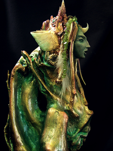 Green Isis (detail 1)