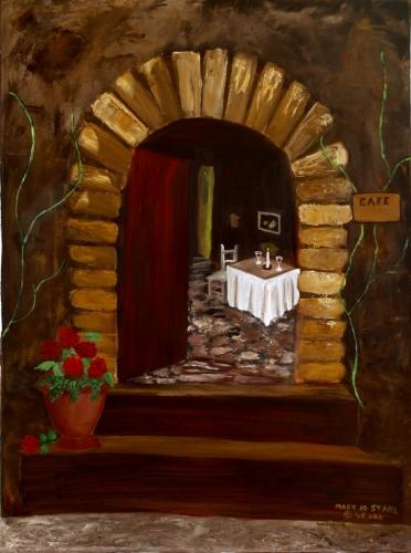 Cafe by MARY JO STAHL
