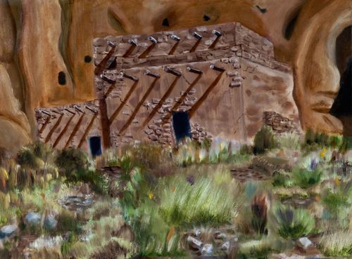 Ancient Dwelling - Bandelier N.M., New Mexico