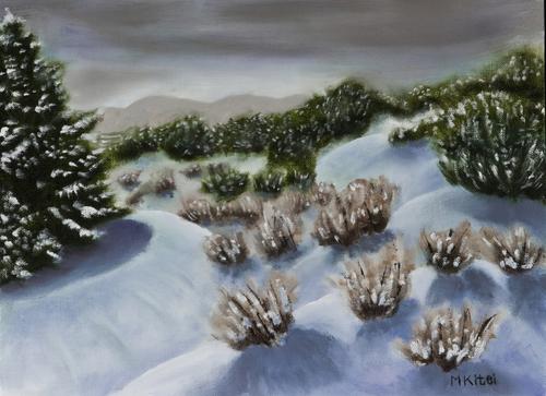 Snow In My Arroyo