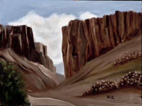 At Canyon Diablo