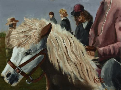 Pony Riders Up