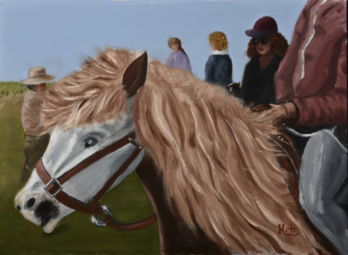 Pony On A Lead