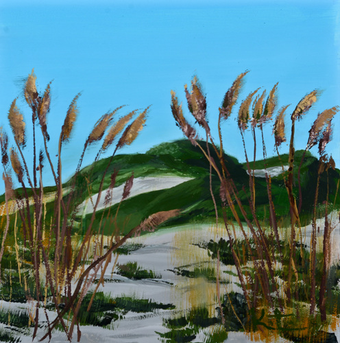 Grayton Beach 2 - gouache study