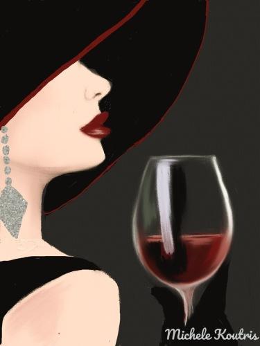 I Adore Red Wine
