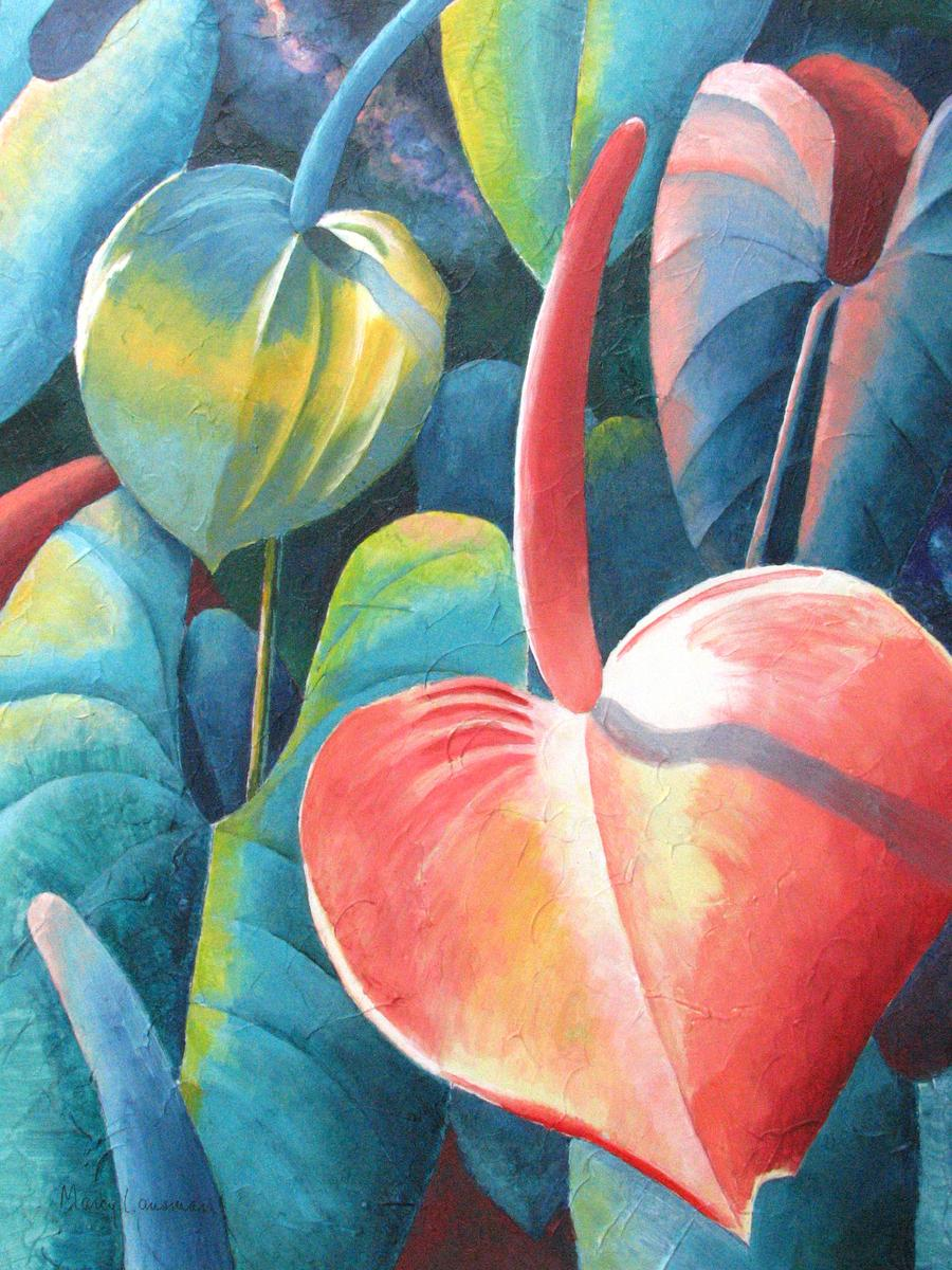 Anthuriums (large view)
