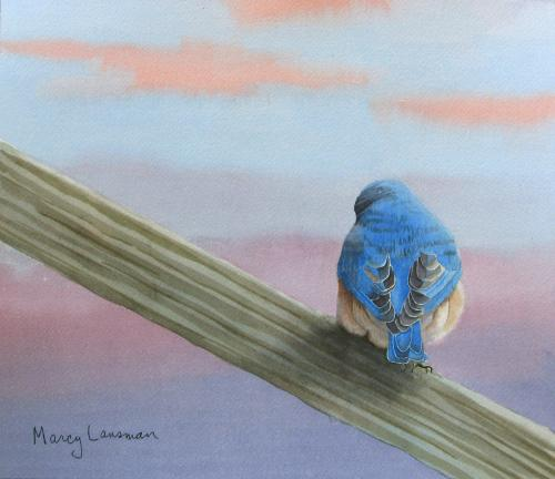 Into the Blue by Marcy Lansman