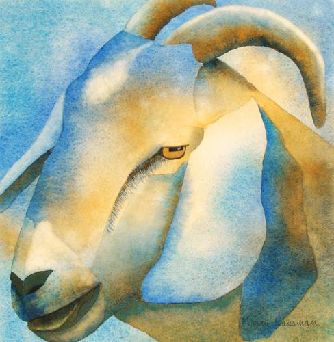 Blue Goat (large view)