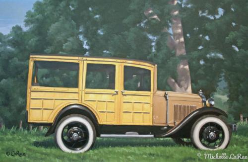 Model A Woody Truck