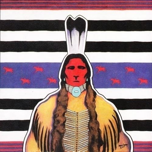 Navajo Ute Warrior