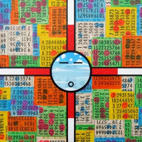 Bingo Dreams by Marcus Cadman - Contemporary Native American Art