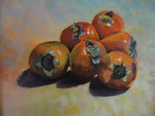 Six Persimmons