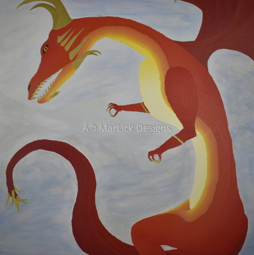 Red/Gold Dragon