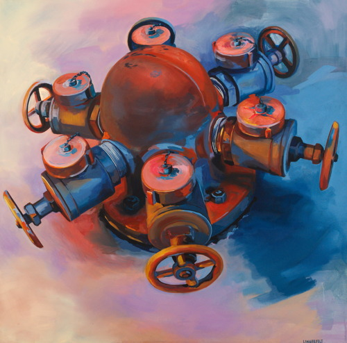 Hex Hydrant  by Megan Lingerfelt